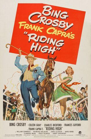File:1950 - Riding High Movie Poster.jpg