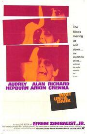 1967 - Wait Until Dark Movie Poster
