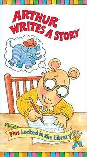Arthur Writes a Story VHS Cover