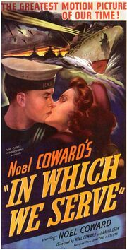 1942 - In Which We Serve Movie Poster
