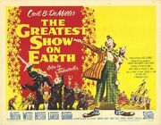1952 - The Greatest Show on Earth Movie Poster 3