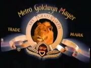 MGM logo from MGM UA Home Video 1993 logo