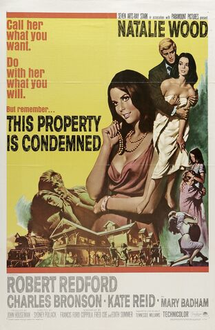 File:1966 - This Property is Condemned Movie Poster.jpg