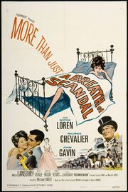 1960 - A Breath of Scandal Movie Poster