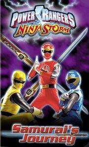 Power rangers ninja storm samurai journey vhs