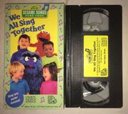 We All Sing Together VHS