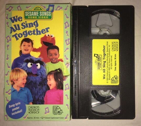 File:We All Sing Together VHS.JPG