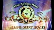 MGM Means Great Movies Promo 2000