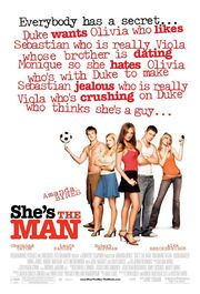 2006 - She's the Man Movie Poster