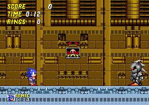 Sonic vs Silver Sonic