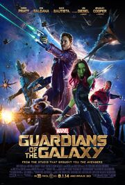 2014 - Guardians of the Galaxy Movie Poster