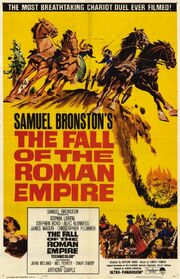 1964 - The Fall of the Roman Empire Movie Poster