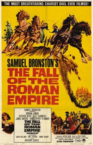 File:1964 - The Fall of the Roman Empire Movie Poster.jpg