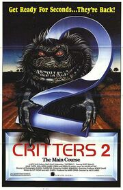 1988 - Critters 2 - The Main Course Movie Poster