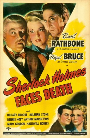 File:1943 - Sherlock Holmes Faces Death Movie Poster.jpg