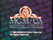 MGM UA Home Video Rainbow Scroll 1989