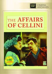 1934 - The Affairs of Cellini DVD Cover (2014 Fox Cinema Archives)