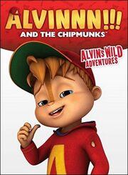 Alvin's Wild Adventures DVD Front Cover