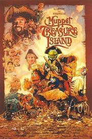 1996 - Muppet Treasure Island Movie Poster
