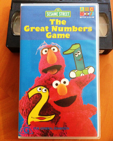 File:The great numbers game australian vhs.jpg
