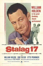 1953 - Stalag 17 Movie Poster
