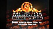 MGM UA Home Video Copyright Scroll 1999