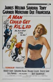 1966 - A Man Could Get Killed Movie Poster