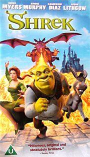 Shrek UK VHS