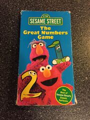 The Great Numbers Game Sesame Street VHS
