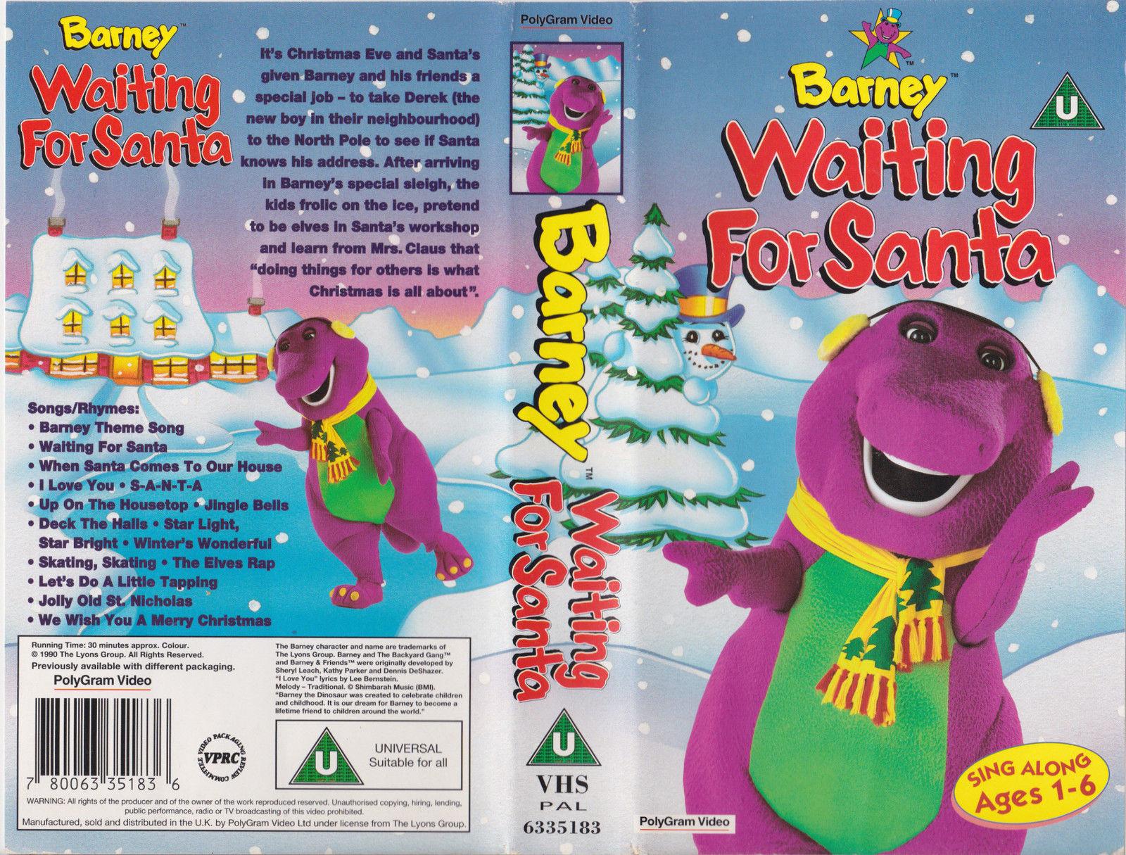 Opening To Waiting For Santa 1999 UK VHS (Disney Videos ...