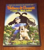 Wallace And Gromit The Curse Of The WereRabbit VHS