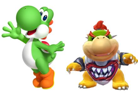 File:Yoshi and Bowser jr.PNG