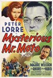 1938 - Mysterious Mr. Moto Movie Poster