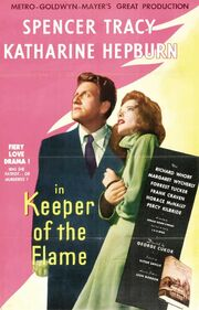 1942 - Keeper of the Flame Movie Poster