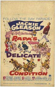 1963 - Papa's Delicate Condition Movie Poster