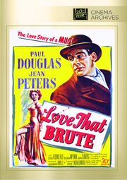 1950 - Love That Brute DVD Cover (2013 Fox Cinema Archives)