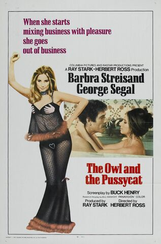 File:1970 - The Owl and the Pussycat Movie Poster -2.jpg