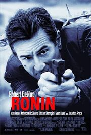 1998 - Ronin Movie Poster