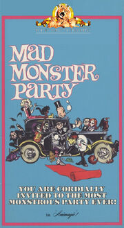 Mad monster party mgm ua family entertainment vhs