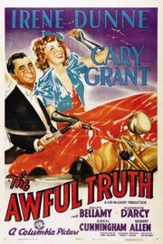 1937 - The Awful Truth Movie Poster