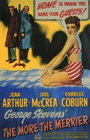 1943 - The More the Merrier Movie Poster