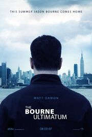 2007 - The Bourne Ultimatum Movie Poster