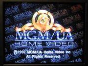 MGM-UA Home Video Rainbow Copyright Scroll (1997)