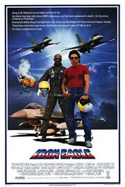 1986 - Iron Eagle Movie Poster
