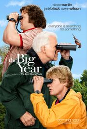 2011 - The Big Year Movie Poster