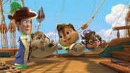 Chipmunks yo ho hero