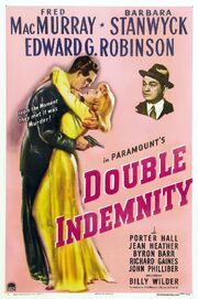 1944 - Double Idemnity Movie Poster