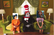 Frozen The Cat In The Hat 1