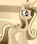 Princess Cadance id S03E12 Sepia Tone