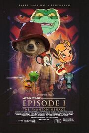 The Phantom Menace (Disney and Sega Style) Poster